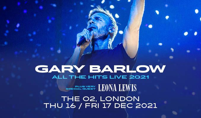 Gary Barlow - RESCHEDULED tickets at The O2 in London