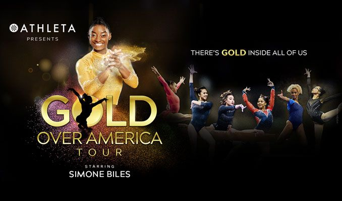 Gold Over America Tour Starring Simone Biles tickets at Gas South Arena in Duluth