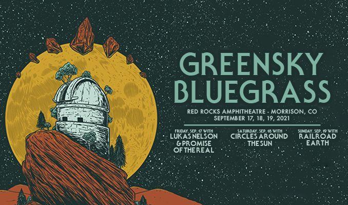 Greensky Bluegrass 9/18 tickets at Red Rocks Amphitheatre in Morrison