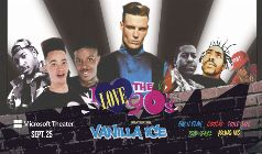 I Love The 90's featuring Vanilla Ice, Kid N Play, Coolio, Tone Loc, Rob Base, Young MC