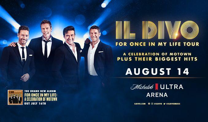 Il Divo tickets at Michelob ULTRA Arena at Mandalay Bay Resort & Casino in Las Vegas