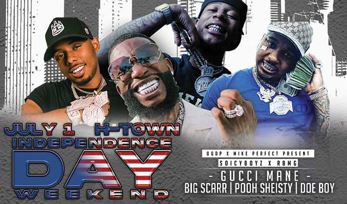 Independence Day Weekend - SoicyBoyz x RBMG tickets at Toyota Center in Houston