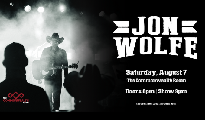 Jon Wolfe tickets at The Commonwealth Room in South Salt Lake