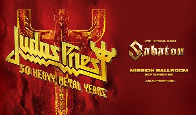 Judas Priest tickets at Mission Ballroom in Denver