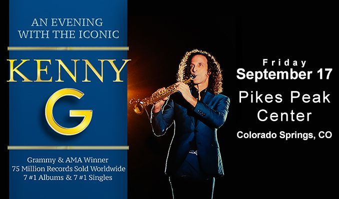 Kenny G tickets at Pikes Peak Center in Colorado Springs