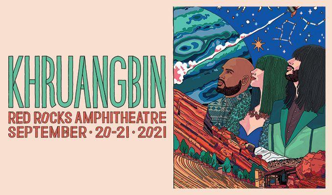 Khruangbin 9/21 tickets at Red Rocks Amphitheatre in Morrison