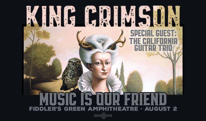 King Crimson tickets at Fiddler's Green Amphitheatre in Greenwood Village