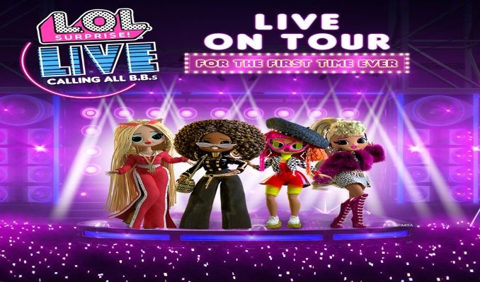 L.O.L. Surprise! Live tickets at King Center For The Performing Arts in Melbourne