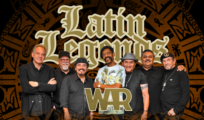 Latin Legends featuring WAR tickets at The Greek Theatre in Los Angeles