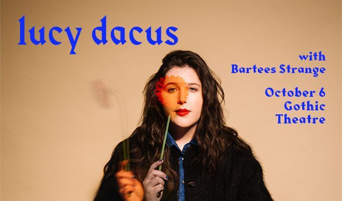 Lucy Dacus tickets at Gothic Theatre in Englewood