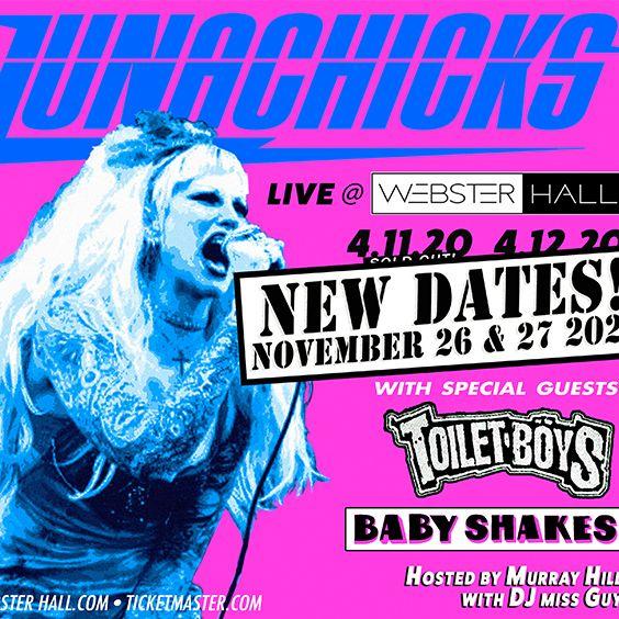 "<a href=""https://www.axs.com/artists/1108731/lunachicks-tickets"">2nd show added due to overwhelming demand!!</a>"