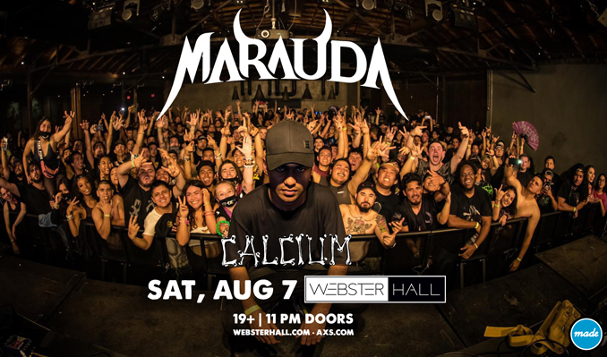 Marauda tickets at Webster Hall in New York