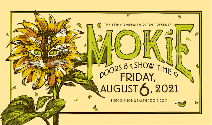 Mokie tickets at The Commonwealth Room in South Salt Lake