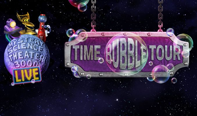 Mystery Science Theater 3000 LIVE: Time Bubble Tour tickets at The Theatre at Ace Hotel in Los Angeles