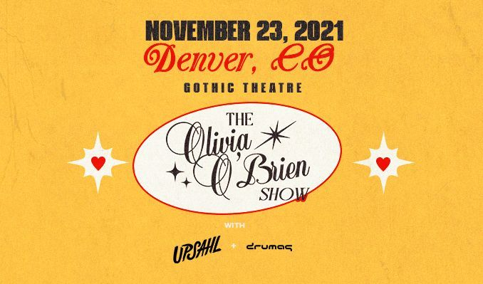 Olivia O'Brien tickets at Gothic Theatre in Englewood