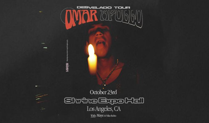 Omar Apollo tickets at Shrine Expo Hall in Los Angeles
