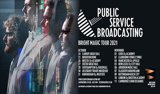 Public Service Broadcasting tickets at Rock City in Nottingham