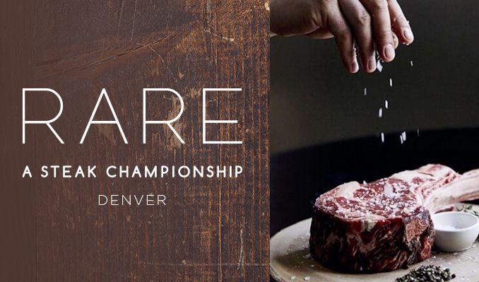 RARE, The Denver Steak Championship tickets at Sculpture Park in Denver