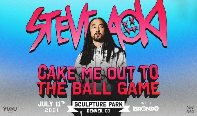 Steve Aoki tickets at Sculpture Park in Denver