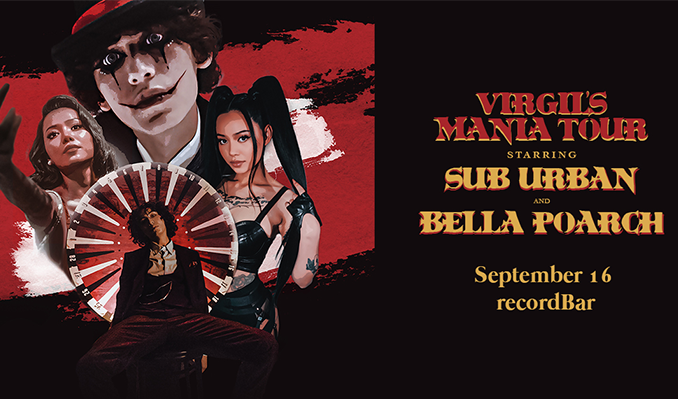 Sub Urban & Bella Poarch tickets at recordBar in Kansas City