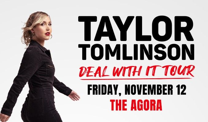 Taylor Tomlinson tickets at Agora Theatre in Cleveland
