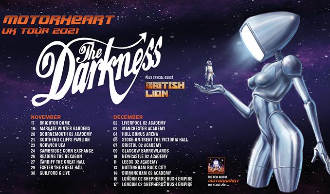 The Darkness tickets at Brighton Dome in Brighton