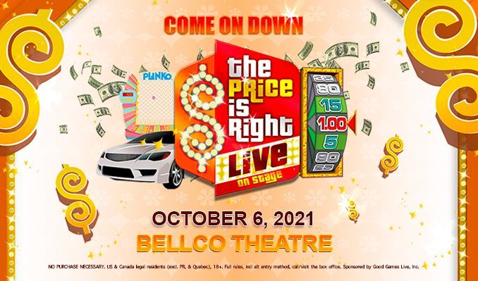 The Price is Right Live tickets at Bellco Theatre in Denver