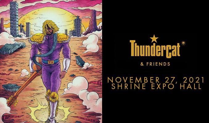 Thundercat & Friends tickets at Shrine Expo Hall in Los Angeles