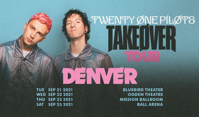 TWENTY ØNE PILØTS tickets at Bluebird Theater in Denver