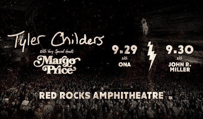 Tyler Childers 9/30 tickets at Red Rocks Amphitheatre in Morrison