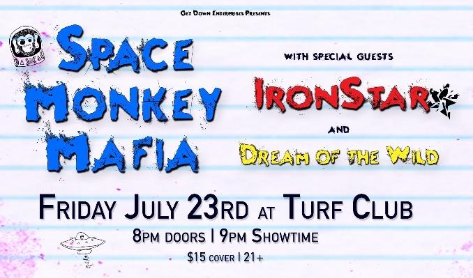 Space Monkey Mafia tickets at Turf Club in Saint Paul