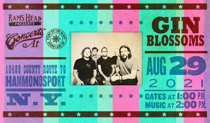 Gin Blossoms tickets at Point of the Bluff in Hammondsport