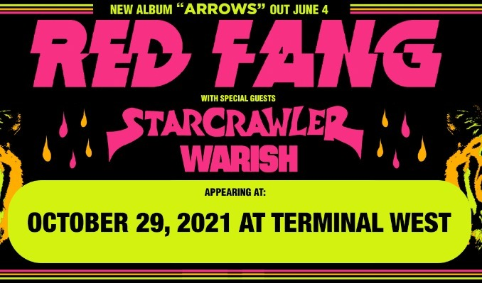 Red Fang tickets at Terminal West in Atlanta