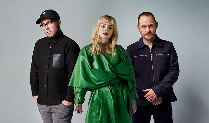 CHVRCHES with special guest Donna Missal tickets at The Riverside Theater in Milwaukee