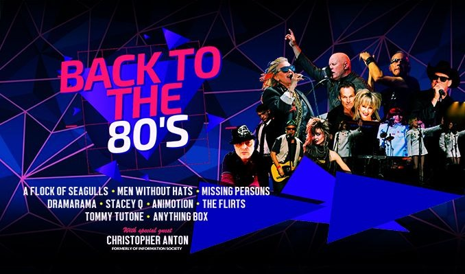 Back to the 80's tickets at Texas Trust CU Theatre in Grand Prairie