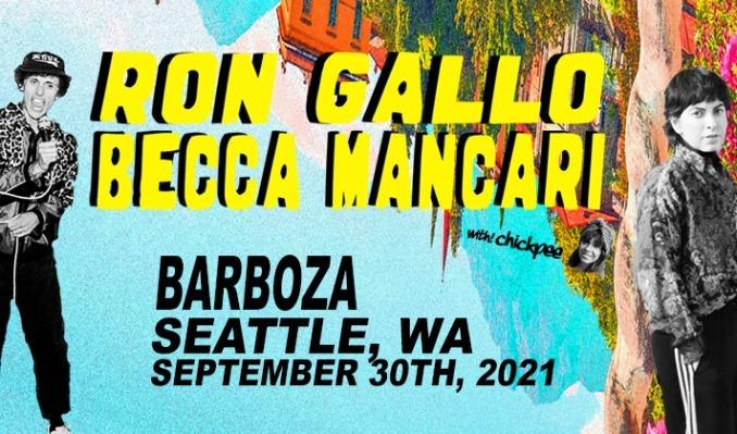 More Info for Ron Gallo + Becca Mancari