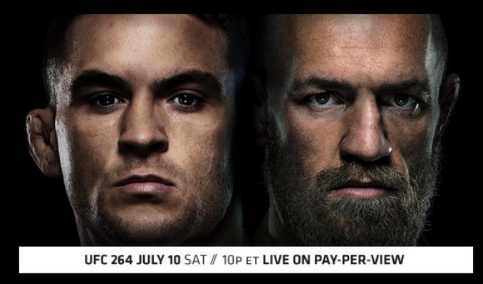 UFC 264: Poirier vs McGregor 3 tickets at Sports & Social Maryland in Hanover