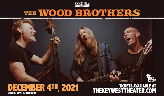 The Wood Brothers w/ The Dead Tongues  tickets at Key West Theater in Key West