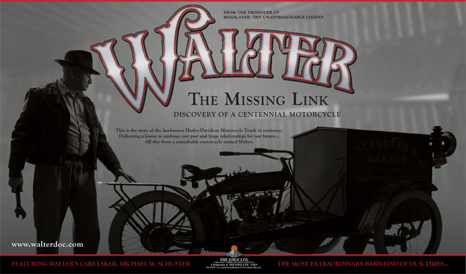 Walter: The Missing Link Discovery of a Centennial Motorcycle tickets at Turner Hall Ballroom in Milwaukee