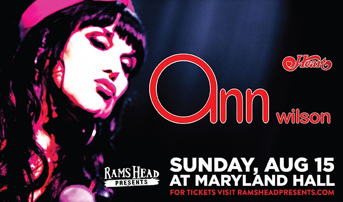 Ann Wilson of Heart tickets at Maryland Hall in Annapolis