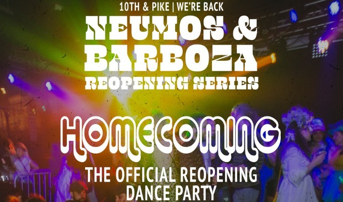 More Info for Homecoming: The Official Reopening Dance Party