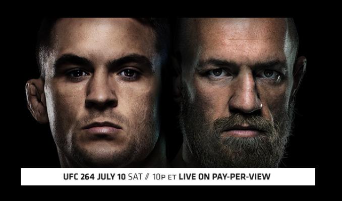 UFC 264: Poirier vs McGregor 3 tickets at Luckie's Tavern in Baltimore