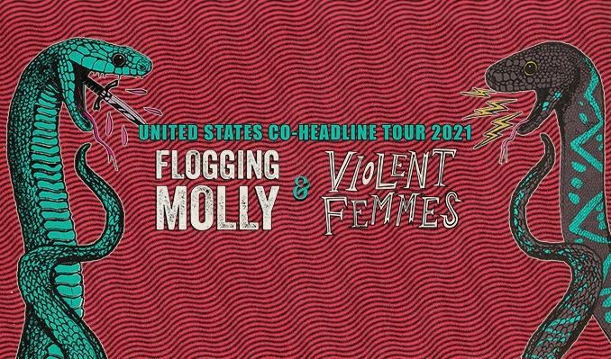 Flogging Molly & Violent Femmes tickets at The Theater at Virgin Hotels Las Vegas in Las Vegas