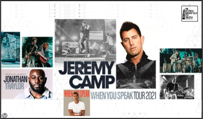 Jeremy Camp tickets at Historic Bakersfield Fox Theater in Bakersfield