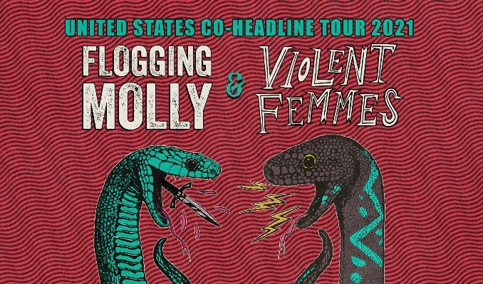Flogging Molly & Violent Femmes tickets at Stage AE in Pittsburgh