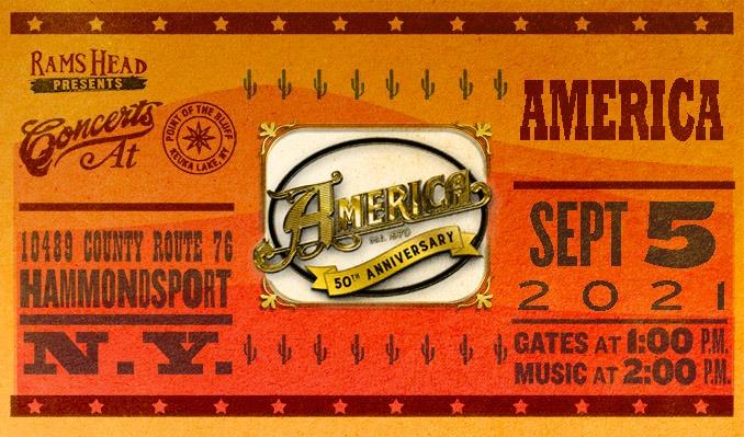 America tickets at Point of the Bluff in Hammondsport