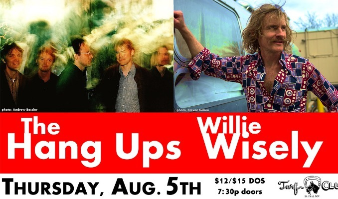 Willie Wisely and The Hang Ups tickets at Turf Club in Saint Paul