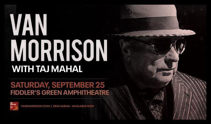 Van Morrison tickets at Fiddler's Green Amphitheatre in Greenwood Village
