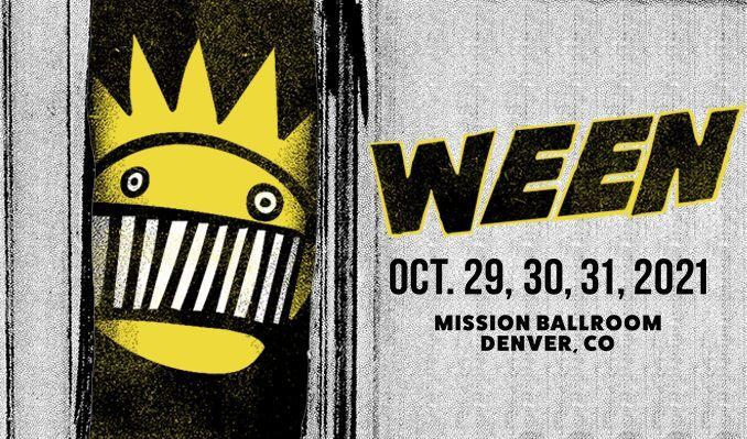 Ween tickets at Mission Ballroom in Denver