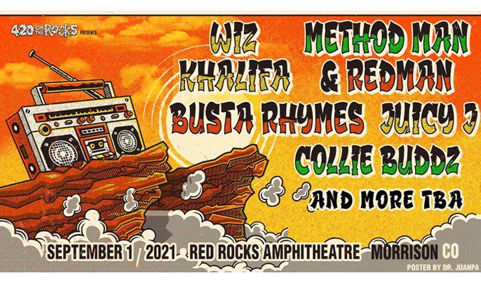 Wiz Khalifa x Method Man & Redman x Busta Rhymes tickets at Red Rocks Amphitheatre in Morrison